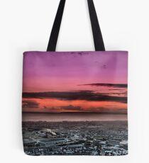 sandfields sunset Tote Bag