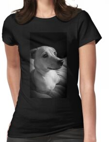 Precious Puppy Womens Fitted T-Shirt