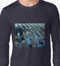 Natural Water Abstract Long Sleeve T-Shirt
