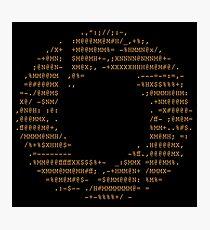 Portal - Aperture Science Code Logo Photographic Print