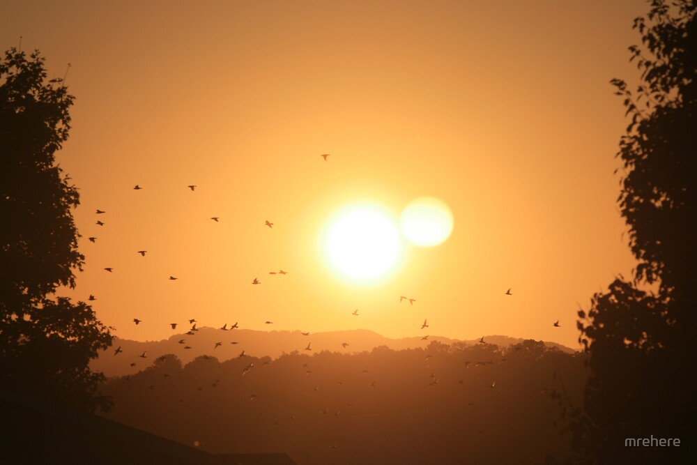 Shenandoah Valley at Sunset by mrehere