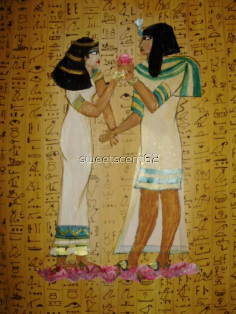 Isis and Osiris by sweetscent62