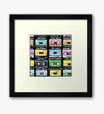Audio cassettes  Framed Print