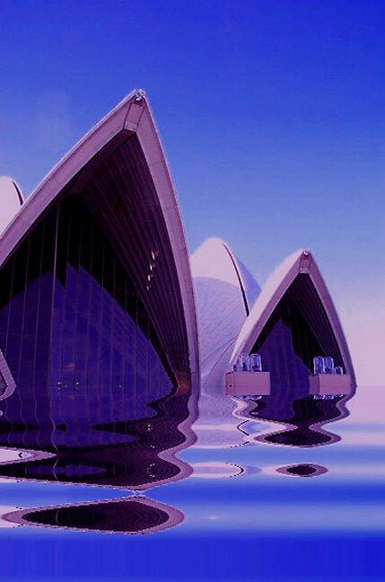 Sydney Opera House by Julia Mainwaring-Berry