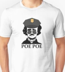 Funny Edgar Allan Poe Poe Police Unisex T-Shirt