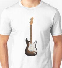 Stratocaster guitar - Sunburst T-Shirt