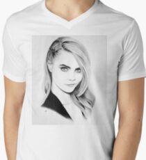 Cara Delevingne Pencil Portrait. T-Shirt