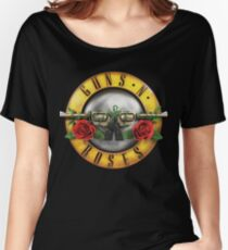 Logo Guns N' Roses Summer Tour 2017 Women's Relaxed Fit T-Shirt