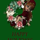 Happy Holidays 2008 by Catherine Crimmins