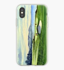 Pebble Beach 9Th Hole iPhone Case