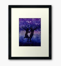 Love Beyond The Space Framed Print