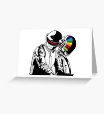 Daft Punk Music Greeting Card