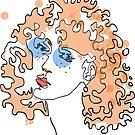 Colored ginger girl von E-xerix