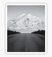 on the road Sticker