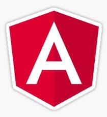 New Angular 5 Logo JS JavaScript Developer Sticker