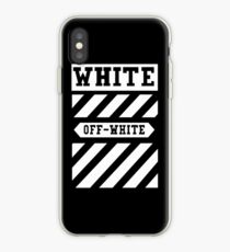 off black and white iPhone Case