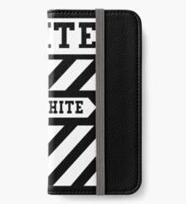 off black and white iPhone Wallet/Case/Skin