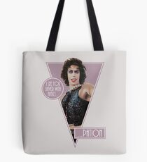 The Rocky Horror Picture Show - I see you shiver with antici ... Tote Bag