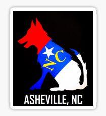NC Dog (Asheville, NC) Sticker