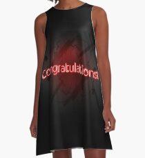 Congratulations !! A-Line Dress