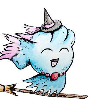 Inktober Day 6: Mischievous Witch by PikachuHat