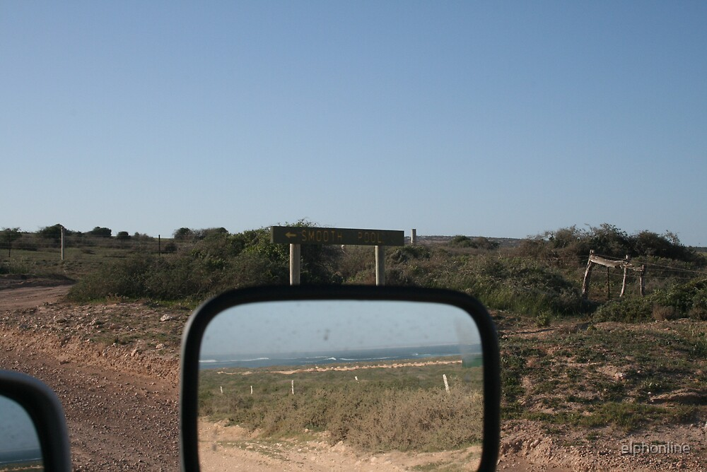 on the road- reflections. by elphonline