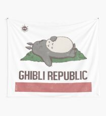 Ghibli Republic Wall Tapestry