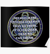 Strange universe Poster