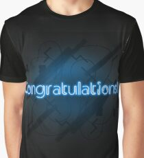 Congratulations ! Blue Edition Graphic T-Shirt
