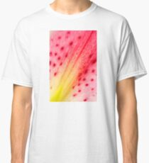 Abstract Macro Lily Classic T-Shirt