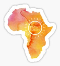 Africa, Project Malawi Sticker
