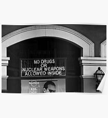 NO DRUGS Poster