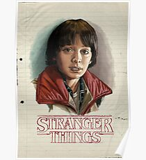 Stranger Things - Will Byers Poster