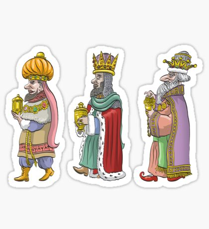Three Kings Sticker