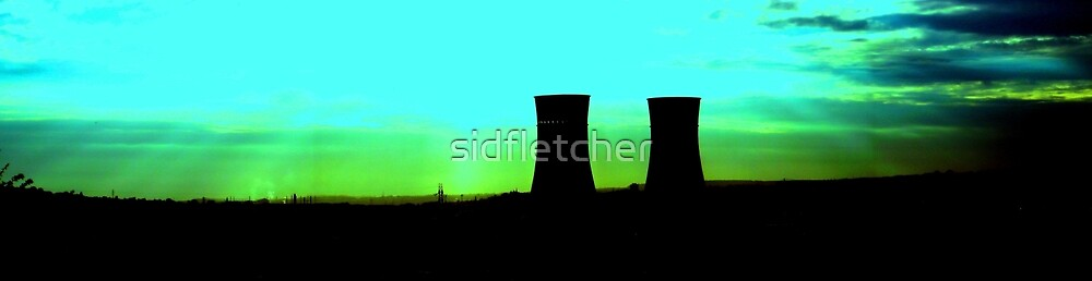 tinsley towers at dawn distant shot by sidfletcher