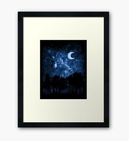 Spirit - POSTER Framed Print