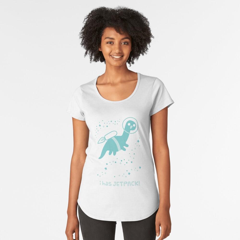 I Has Jetpack! Premium Scoop T-Shirt