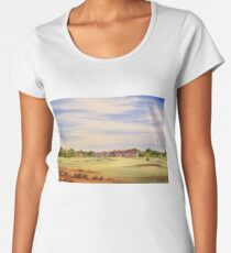 Royal Lytham And St Annes 18Th Hole Women's Premium T-Shirt
