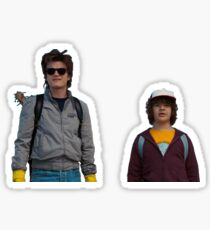 Stranger things season 2 dustin and steve Sticker