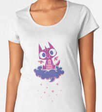 Cute Starry Night Dragon Women's Premium T-Shirt