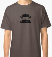 Mazdaspeed3 Rear Silhouette (Black) Classic T-Shirt