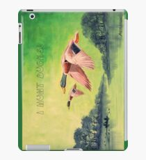 I HUNT DUCKS iPad Case/Skin