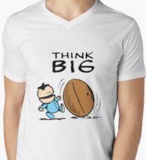 Ike Peanuts Men's V-Neck T-Shirt