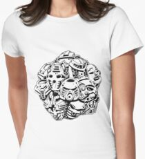 Kanohi Cluster Women's Fitted T-Shirt