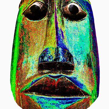 Friendly Tribal Face by zyonchilde