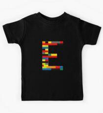E t-shirt Kids Clothes