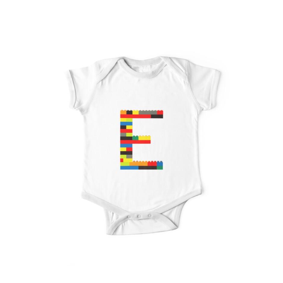 E t-shirt by Addison