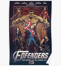 Wil Anderson's FOFENGERS (Fofop 200th episode poster) Poster
