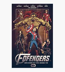 Wil Anderson's FOFENGERS (Fofop 200th episode poster) Photographic Print