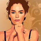 FAN ART FOR LENA by DANIEL COLE